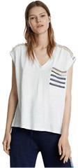 Desigual Dámske tričko Ts Vero na Crudo 20SWTKC5 1001