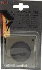 KikiTiki Ochranný plech vletového otvoru - Ø 45 mm
