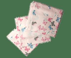 Cigit Kids Dětské povlečení z přírodní bavlny 120X150cm, 100x135cm a 35X45cm + prostěradlo zdarma