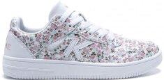 Dámská obuv Kelme Retrobasket Flowers Bílá / Růžová