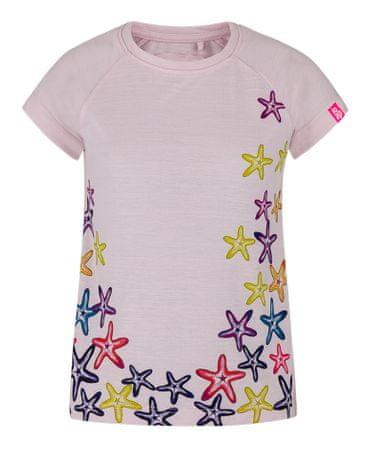 Loap dekliška majica AJTA, 112/116, roza