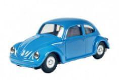 KOVAP Auto VW brouk na klíček kov 11cm modré v krabičce Kovap