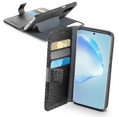 CellularLine Pouzdro typu kniha CellularLine Book Agenda pro Samsung Galaxy S20+, černé (BOOKAGENDAGALS11K)