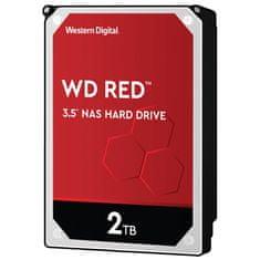 Western Digital Red NAS trdi disk, 2TB, 3,5, SATA3, 256MB (WD20EFAX)