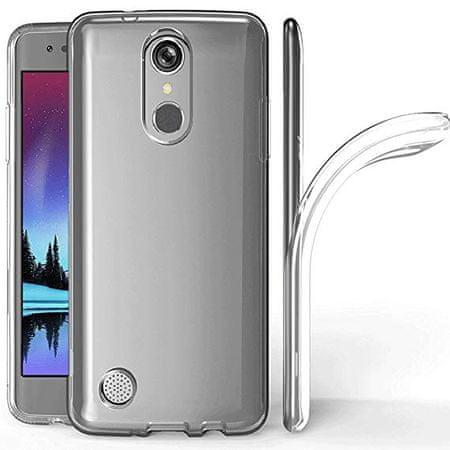 Ovitek za LG K20 LMX120, ultra tanek, silikonski, prozoren