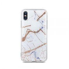Ovitek Marmor za iPhone 11 Pro Max, silikonski, bel