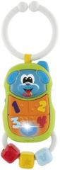 Chicco gryzak elektroniczny na zaczepie w kształcie C, Telefon piesek
