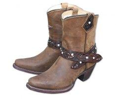 Stars and Stripes dámské westernové boty WBL-26