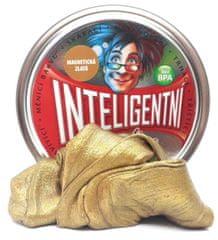 Intelig.plastelína Magnetická zlatá