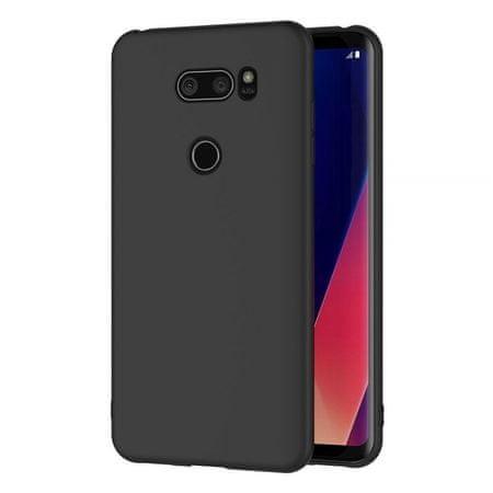 Ovitek za LG K40s 2019, silikonski, mat črn