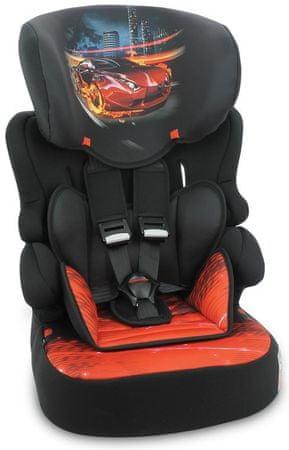 Lorelli X-Drive Plus avtosedež Black Fiery Race