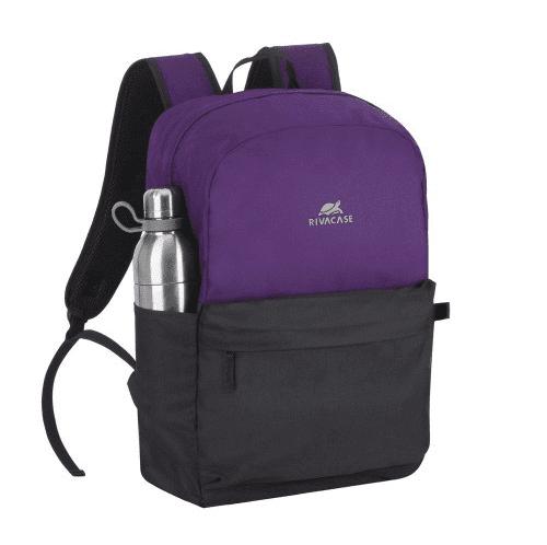 Stranjski žep za steklenico Riva Case Batoh za prenosnik 15.6'', črna/vijolična (5560-SVB)