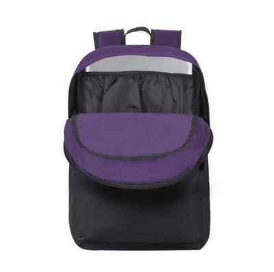 Riva Case nahrbtnik za 39,6 cm (15.6''), črna/vijolična (5560-SVB) oblazinjen predal za prenosni računalnik
