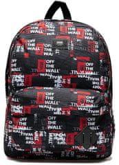 Vans pánský černý batoh Mn Old Skool III Bac Packing Tape