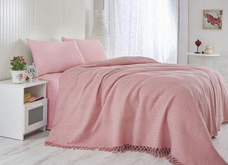 Şaheser ágytakaró rózsaszín 180 x 240 cm