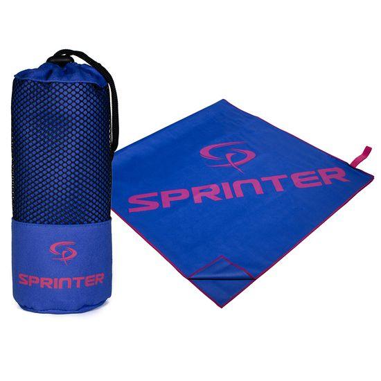 Sprinter uterák z mikrovlákna 100x160 cm, modro-ružový