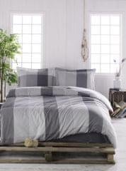 Türkiz posteljina Ranforce, prugasta 200x220 cm