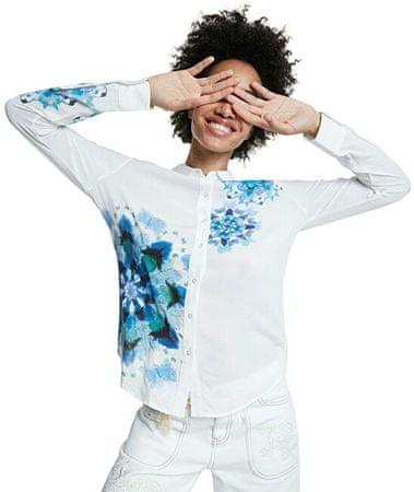 Desigual Damska koszula Cam Vicenza Blanco 20SWCW71 1000 (Velikost S)