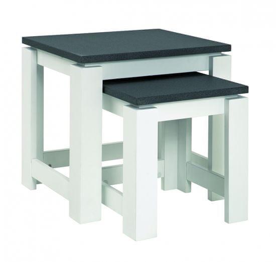 Mørtens Furniture Konferenčné stolíky Carla, 2 ks