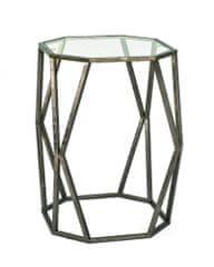 Mørtens Furniture Konferenčný stôl Derek, 50 cm, antická bronzová