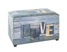 Mørtens Furniture Lavice s úložným prostorem Aria, 65 cm