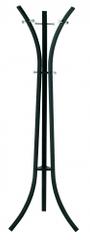 Mørtens Furniture Stojanový vešiak Freddy, 177 cm, čierna