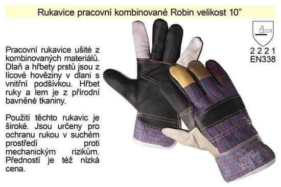 """Cerva Kombinované pracovný rukavice Robin, veľkosť 10"""""""