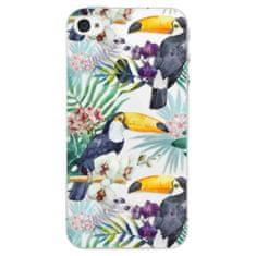 iSaprio Plastový kryt - Tucan Pattern 01 pro Apple iPhone 4/4S