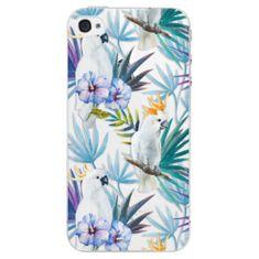 iSaprio Plastový kryt - Parrot Pattern 01 pro Apple iPhone 4/4S