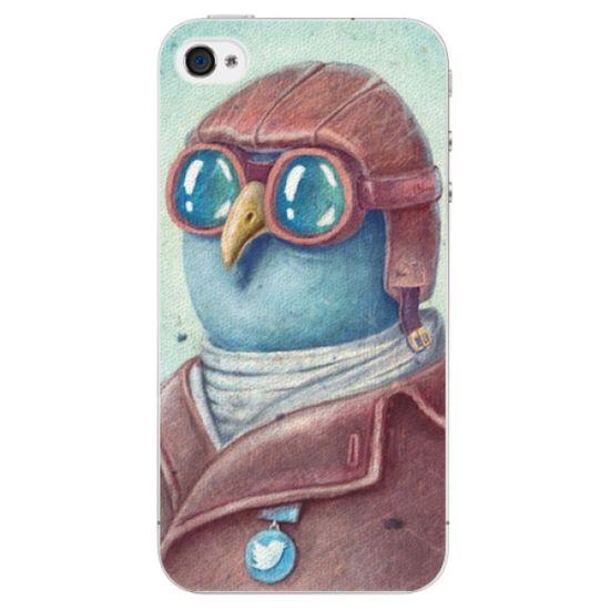 iSaprio Plastový kryt - Pilot twitter pre Apple iPhone 4/4S