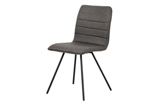 Dalenor Jedálenská stolička Amy (súprava 4 ks), sivá