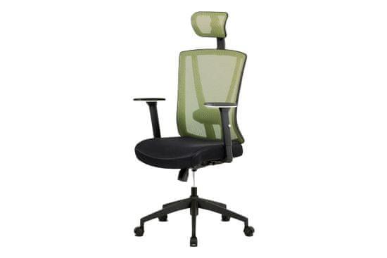 Dalenor Kancelárska stolička Demian, zelená
