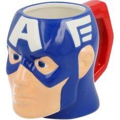 Star Keramický hrnek Avengers Captain America / hrneček Avengers Captain America 3D 325ml