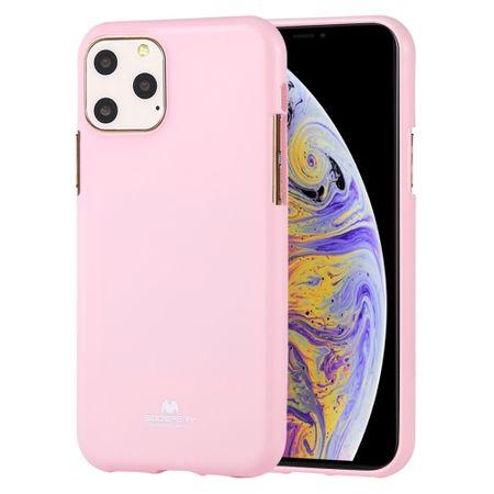 Goospery Jelly maska za iPhone 11 Pro, tanka, silikonska, roza