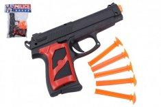 Wiky Pistole + přísavky 5ks plast 16cm v sáčku