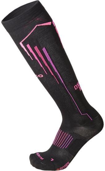 Mico dámske bežecké ponožky Light W Oxy-Jet CA01273_159 M čierne