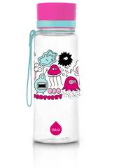 Equa Pink Monsters steklenička, brez BPA