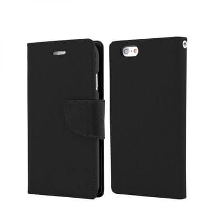 Havana Fancy Diary ovitek za LG Q60 / LG K50, preklopni, črn