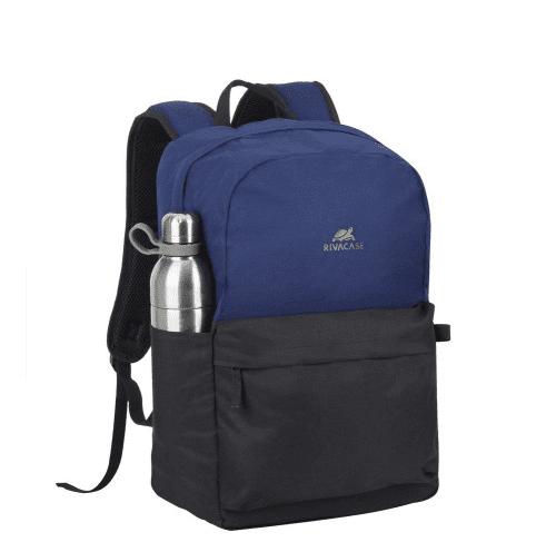 Stranjski žep za steklenico Riva Case Batoh za prenosnik 15.6'', moder/črn (5560-CBB)