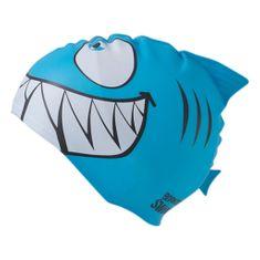 Born To Swim Dětská plavecká čepice - žralok