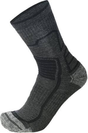 Mico CA03027_743 Natural Merino Short Trekking Socks uniseks nogavice, črne, L