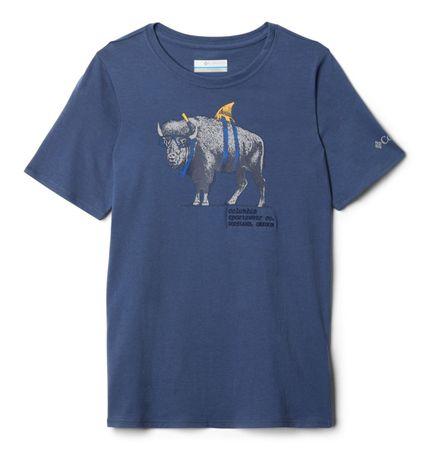 COLUMBIA koszulka chłopięca Peak Point 104 Blue