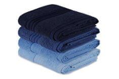 Hand komplet brisač, 4 kosi, modra