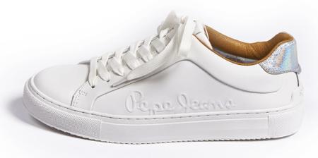 Pepe Jeans ženske tenisice Adams Logo PLS30960, 36, bijela