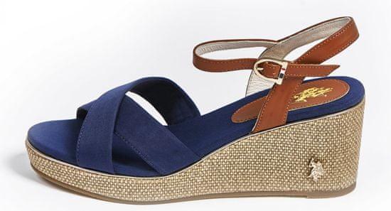 U.S. POLO ASSN. dámske sandále MADELYN 4088S0/CY1 35 tmavomodré
