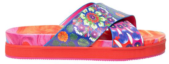 Desigual Dámske šľapky Shoes Nilo Multi color fucsia 20SSSP05 9021 (Veľkosť 37)