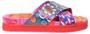 1 - Desigual Dámske šľapky Shoes Nilo Multi color fucsia 20SSSP05 9021 (Veľkosť 37)