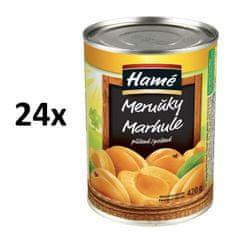 Hamé Marhuľový kompót 24x 420 g
