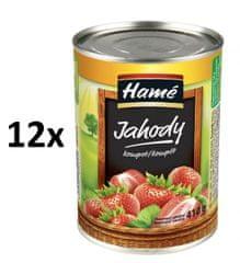 Hamé Jahody 12x 410 g