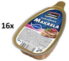 Hamé Nátierka Makrela 16x 100 g